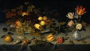 Still Life with Fruit and Flowers AST, Balthasar van der