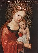 Mary with the Child Albrecht Altdorfer