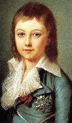 Portrait of Dauphin Louis Charles of France Alexander Kucharsky