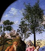 Madonna of the Orange Tree CIMA da Conegliano