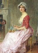 The Seamstress Charles-Amable Lenoir