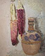 Indian Corn and Mexican Vase Cordelia Wilson