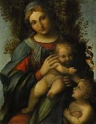 Madonna and Child with infant St John the Baptist Correggio