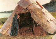 Ojibwe Wigwam at Grand Portage Eastman Johnson