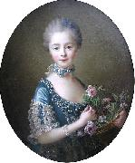 Lady Amelia Darcy, 9th Baroness Conyers Francois-Hubert Drouais
