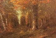 Forest in Autumn Gustave Courbet