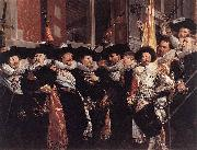 Officers and sergeants of the St Hadrian Civic Guard on their retirement in 1630 Hendrik Gerritsz. Pot