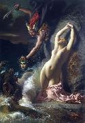 Andromeda Chained to a Rock Henri-Pierre Picou
