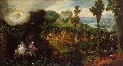 Landscape with the Flight into Egypt Herri met de Bles