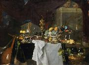 A Table of Desserts or Un dessert Jan Davidsz. de Heem