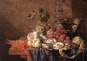 Fruits and Pieces of Seafood Jan Davidsz. de Heem