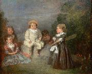Happy Age. Golden Age Jean antoine Watteau