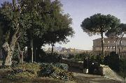 Colosseum Viewed from the Palatine Jean-Achille Benouville