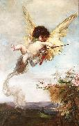 Cupid with a Bow Julius Kronberg