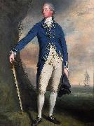 Portrait of Captain George Montagu Lemuel Francis Abbott