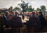 The Funeral Meal Leon Frederic