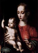 Virgin and Child with a Spindle Luis de Morales
