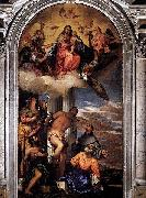 Virgin and Child with Saints Paolo Veronese