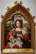 Madonna witch Child Pieter van Aelst