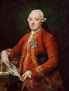 Portrait of Jose Monino, 1st Count of Floridablanca Pompeo Batoni