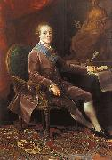 Portrait of Paul I of Russia Pompeo Batoni