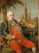 Portrait of French Admiral Pompeo Batoni