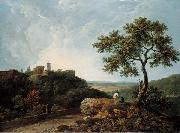 The Temple of the Sybil and the Campagna, Richard Wilson
