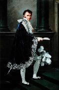 Count Mollien in Napoleonic court costume Robert Lefevre