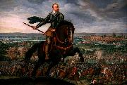 Gustavus Adolphus of Sweden at the Battle of Breitenfeld Walter Withers