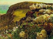 On English Coasts. William Holman Hunt