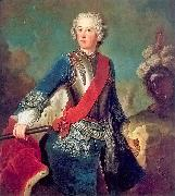 Portrait of the young Friedrich II of Prussia antoine pesne