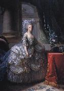 Marie Antoinette of Austria, Queen of France elisabeth vigee-lebrun