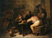 Interior of a Smoking Room Adriaen Brouwer