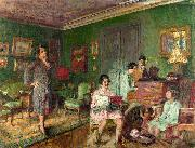 Madame Andre Wormser and her Children Vuillard
