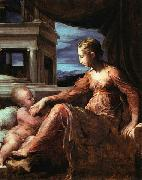 Virgin and Child PARMIGIANINO