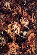 The Damned Being Cast into Hell Frans Francken II