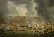 The assault on Algiers by the allied Anglo-Dutch squadron Gerardus Laurentius Keultjes