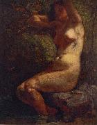 Baigneuse Gustave Courbet