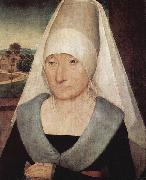 Portrait of an old woman. Hans Memling