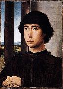 Portrait of a Man at a Loggia Hans Memling