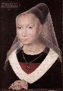 Portrait of a Young Woman Hans Memling