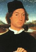 Portrait of a Young Man Hans Memling
