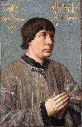Portrait of Jacob Obrecht Hans Memling