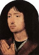 Portrait of a Young Man at Prayer Hans Memling