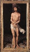 Christ at the Column Hans Memling