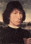 Portrait of a Man with a Roman Coin Hans Memling