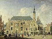 Haarlem: view of the Town Hall Jan ten Compe