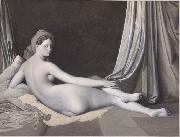 Odalisque in Grisaille Jean Auguste Dominique Ingres
