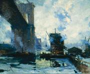 Morning on the River Jonas Lie