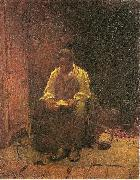 The Lord is my Shepard Eastman Johnson